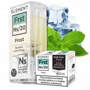 Frost-Nikotinsalz-Liquid-Element