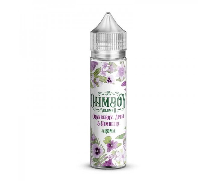 Ohmboy-Volume-II-Cranberry,-Apfel-&-Himbeere-Longfill-Aroma-15-ml