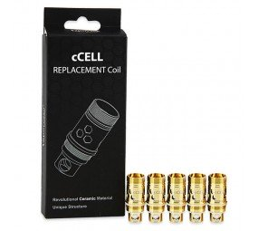 5pcs Vaporesso Ceramic cCELL Replacement Coil - Keramik Wechselverdampfer 5er Pack