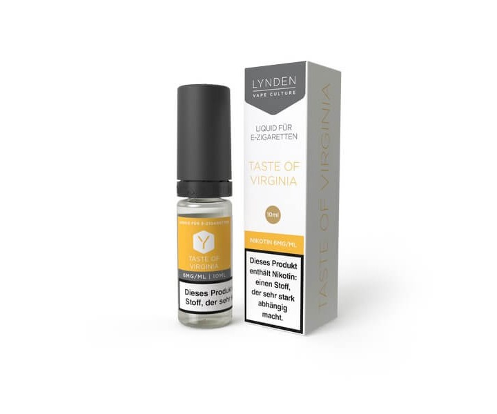 LYNDEN-Liquid-10ml-Taste-Of-Virginia-MHD-Sale