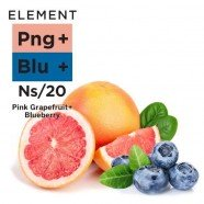 Pink-Grapefruit-Blueberry-Nikotinsalz-Liquid-Element