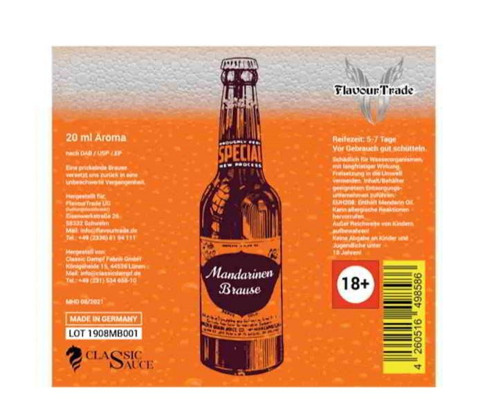 Mandarinen-Brause-Aroma-Flavour-Trade