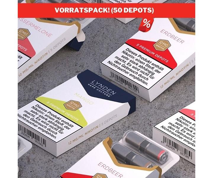 LYNDEN Depots Vorratspack (50 Depots)